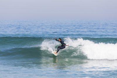 perfecte grüne wellen surfen portugal