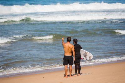 Beliebtester Surfspot Portugal Surfguiding