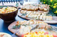 nahrhaftes Abendbuffet surfhostel portugal