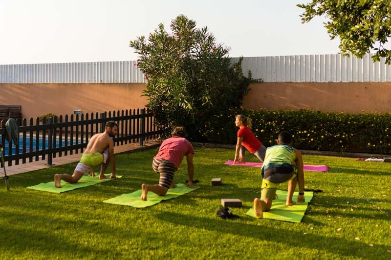 yoga familienfreundlich surfhaus portugal