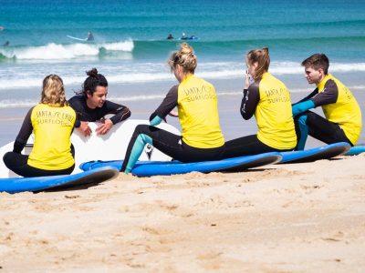 wellenreiten surfen portugal strand