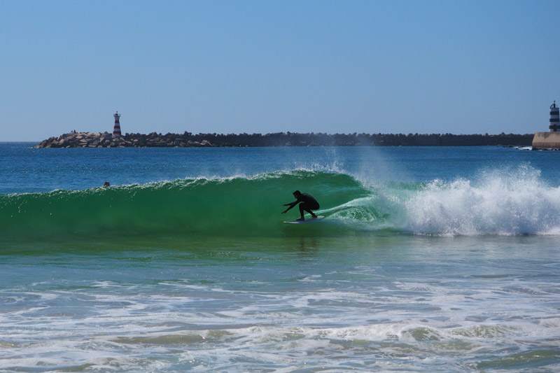 bester surfspot portugal guiding